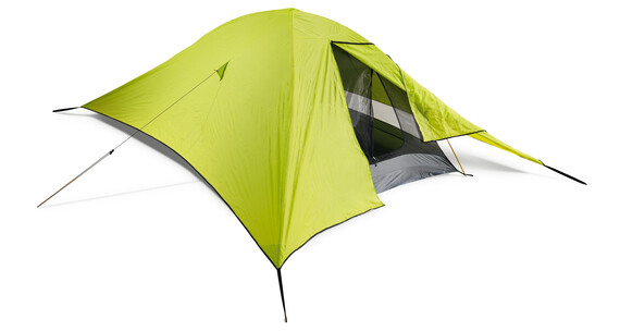 Cocoon Mosquito Dome Rain Fly muskietennet geel/groen